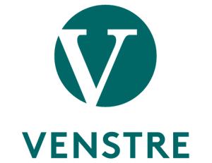 Logoen til Venstre.